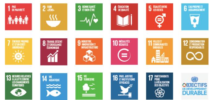 objectifs mondiaux- poster